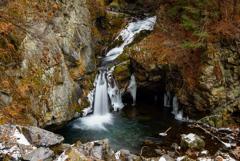 氷瀑巡り2  箱瀬の滝