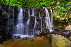 八流の滝2