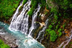 北海道旅行4  白髭の滝