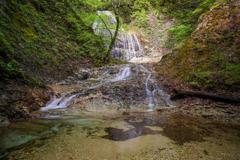大白沢の滝6