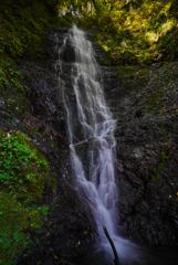 11月滝巡り12  樋口不動の滝