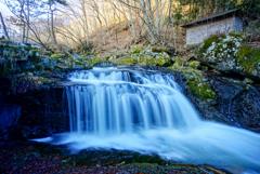 一関で里山の滝巡り11  小黒滝