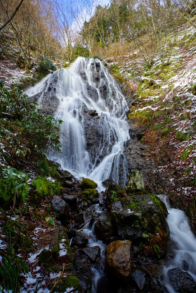 冬の滝巡り in 酒田 2  開運出世の滝