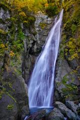 11月滝巡り13  安倍の大滝