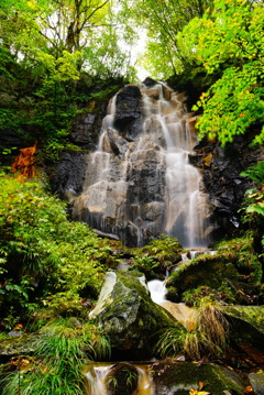 幻の滝(福島県磐梯町)