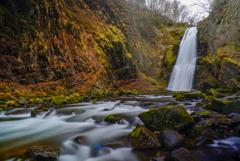 初冬の滝巡り1
