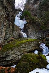 氷瀑巡り5  小禅の滝