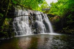 秋田滝巡り3 扇滝