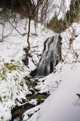 川上神社の滝(仮名)