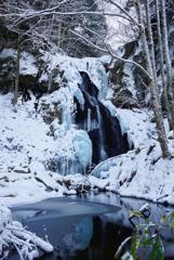 氷瀑巡り7  八岳の滝