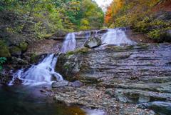 11月滝巡り9  神鈴の滝