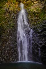 11月滝巡り11  宇嶺の滝