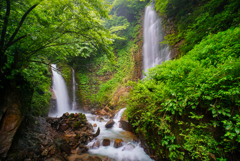 北陸滝巡り9  常虹の滝