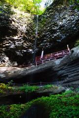 紅葉シーズン滝巡り10  乳穂ヶ滝