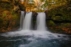 11月滝巡り10  鐘山の滝