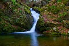 一関で里山の滝巡り10  湯王滝