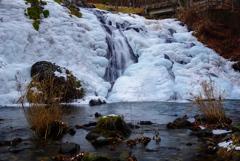 氷瀑巡り6  犬ころの滝