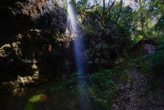 新潟滝巡り8  白玉の滝 雄滝