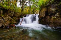 紅葉シーズン滝巡り4  七時雨大滝