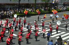 銀座柳祭<パレード>③