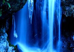 冬の渓流ーⅣ