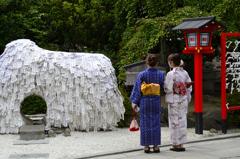 夏の京都<安井金比羅宮>