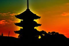 京の落日‐Ⅱ