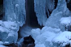 凍てつく滝[九頭竜の滝-2]