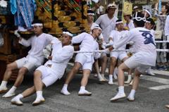 祭りを支える男衆-Ⅱ