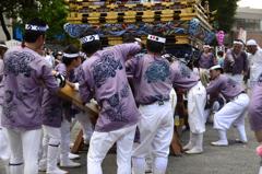 祭りを支える男衆-Ⅳ