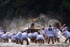 川瀬祭<神輿洗い>