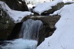 冬の西沢渓谷-Ⅱ