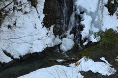 冬の渓谷-Ⅰ