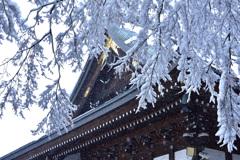 雪の高倉寺ーⅠ