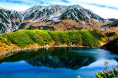 秋の室堂平<みくりが池>