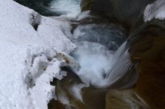 冬の西沢渓谷-Ⅰ