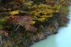 錦秋の渓谷ーⅢ
