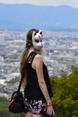 初秋の京都散歩<人物編>ーⅠ