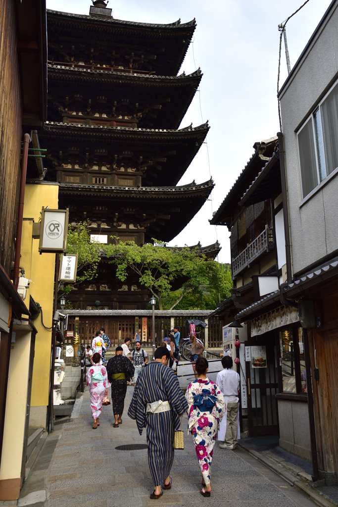 初秋の京都散歩<人物編>ーⅢ