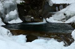 冬の渓谷-Ⅱ