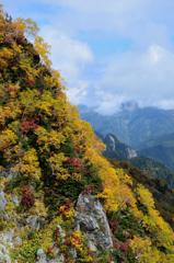 錦秋の立山ーⅡ