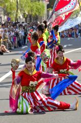 銀座柳祭<よさこい>ー1