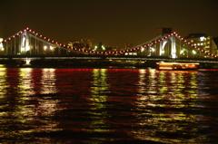 清洲橋夜景-1