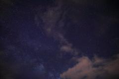 雲の影に天の川1