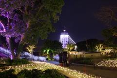江ノ島灯台とイルミ