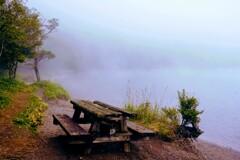 小沼湖畔①