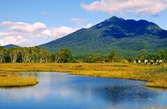 燧ヶ岳と池塘②