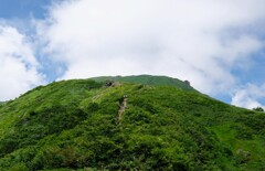 谷川岳登山の一コマ③