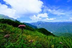 谷川岳登山の一コマ①