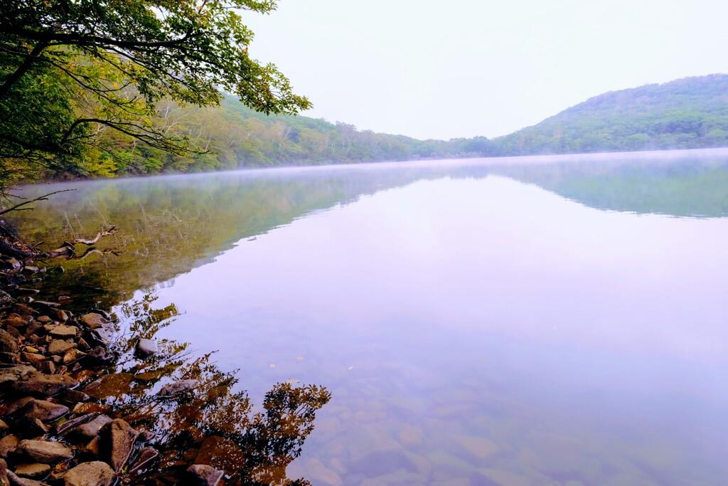 小沼湖畔②